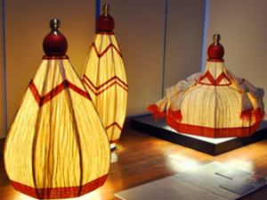 Kathakali Paper Lamps By Sahil And Sarthak
