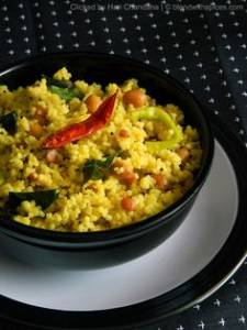 Millet With Raw Mango