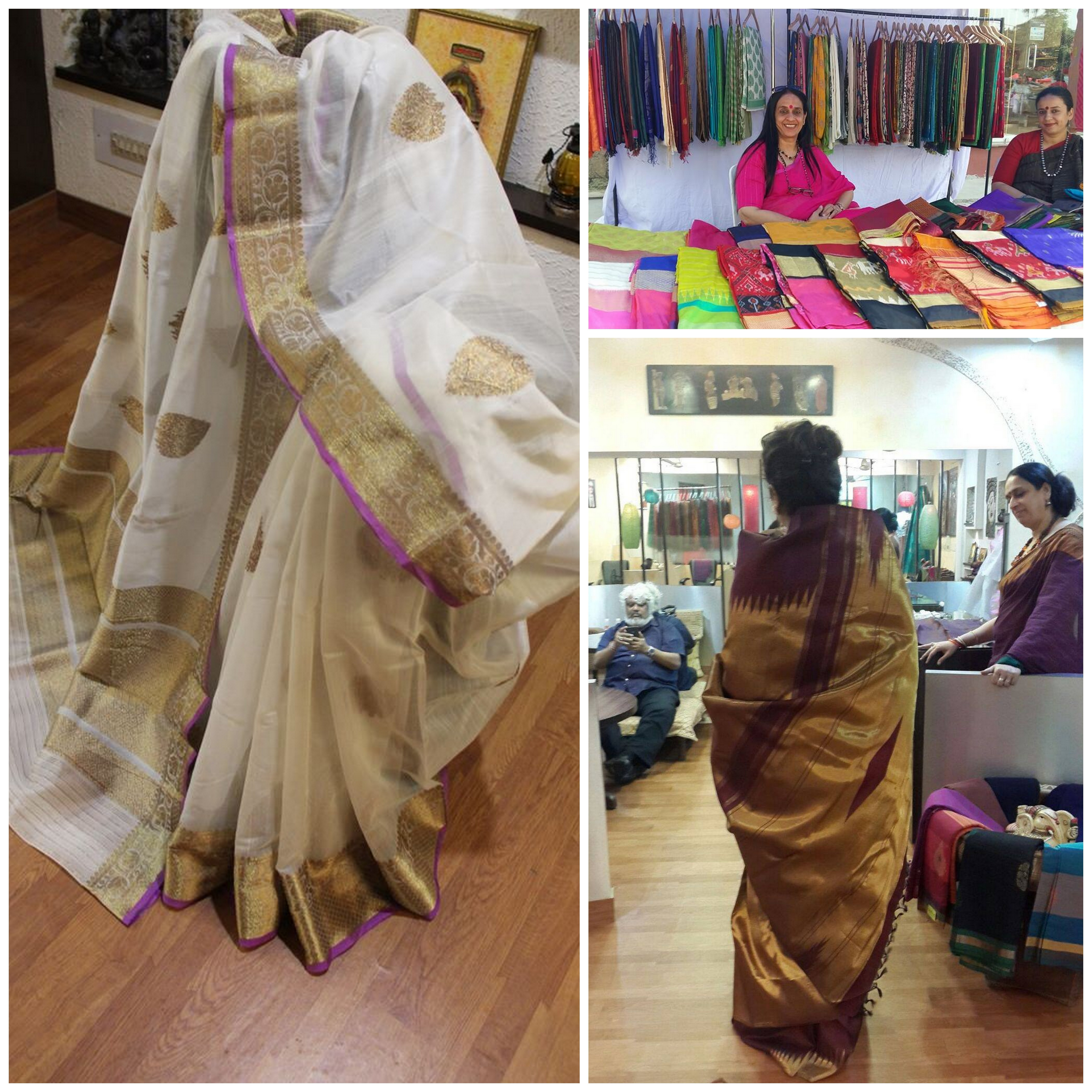 A glimpse into what Lakshmi from Vibhuti Sarees has got for you