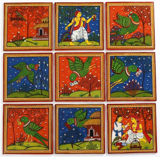 Indian Script , traditional painting