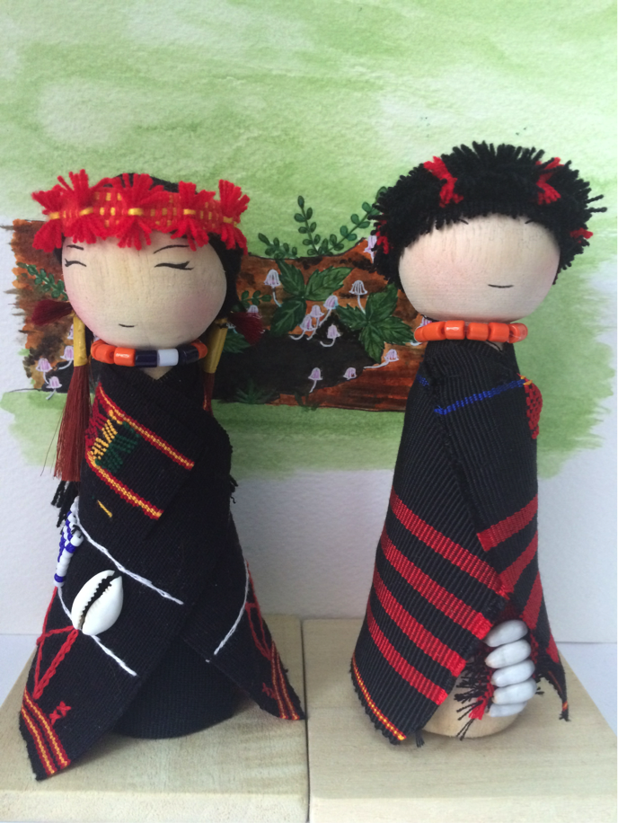 handmade, doll, ikali, nagaland, north-east, india, hand woven