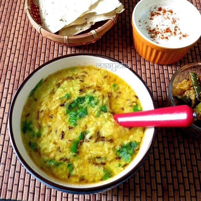 moong -daal- and rice -khichdi-