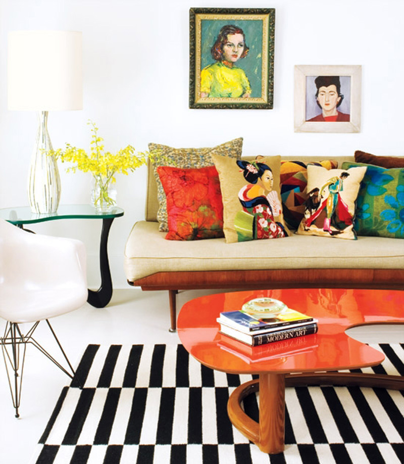 Art deco traditional and pop art