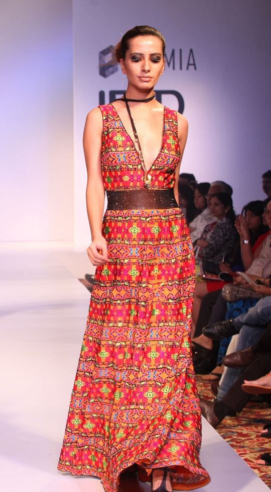 Phulkari dress via