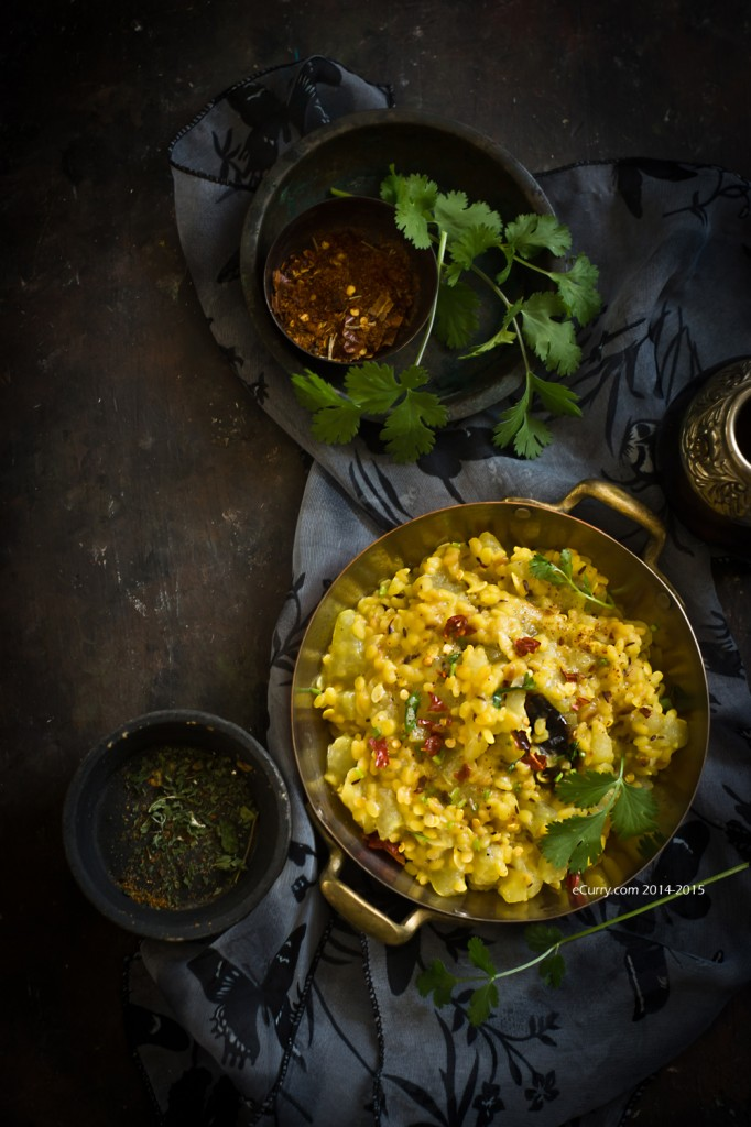Roasting the dry daal the key to this? via