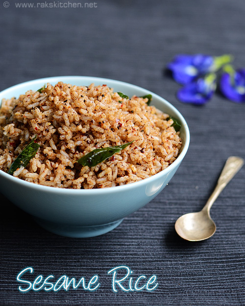 ellu-sadam-sesame-rice-pongal-recipes