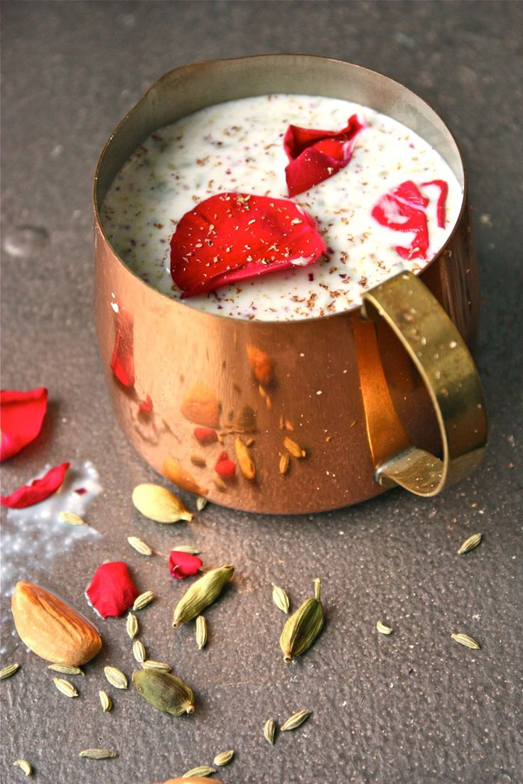 It's Holi ; of course, it's time for Thandai... via