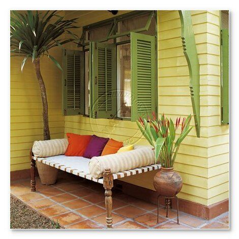 Charpai in your verandah or perhaps in your balcony? via