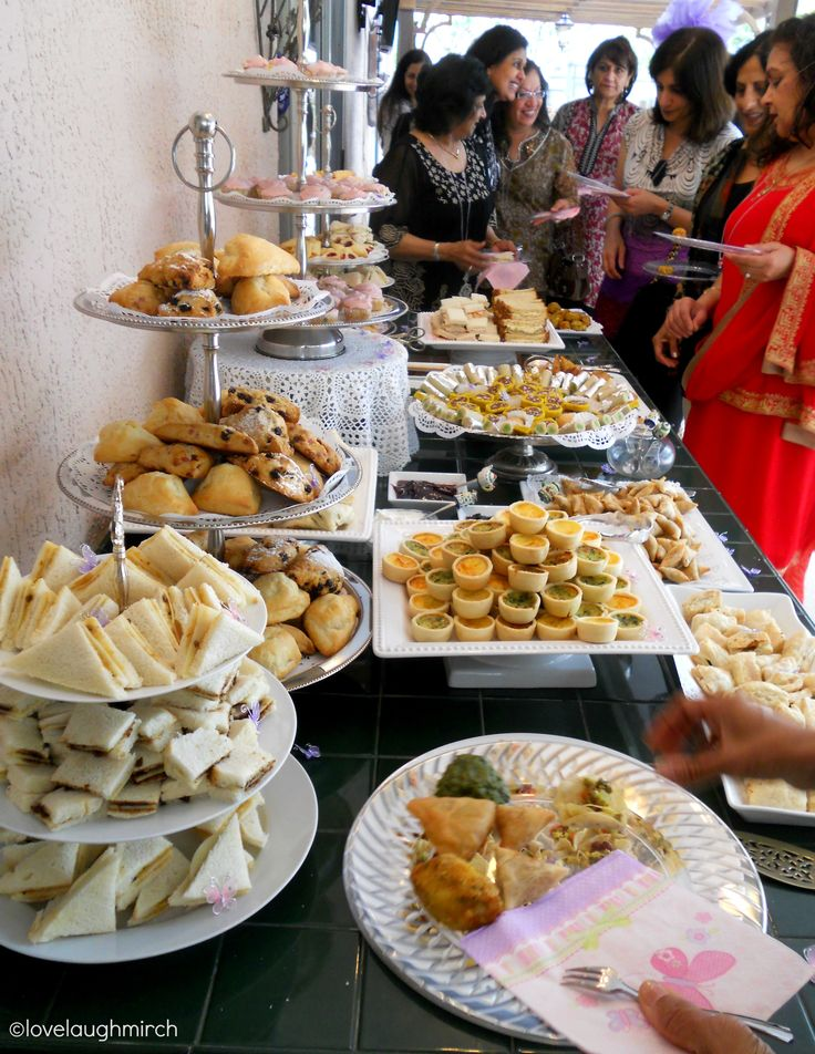 High tea - the Indian way ...via