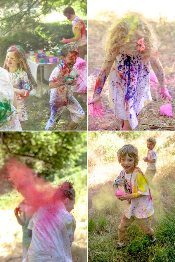 A 'giant colour fight' being hosted across the world via