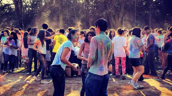 Holi in Cambridge via