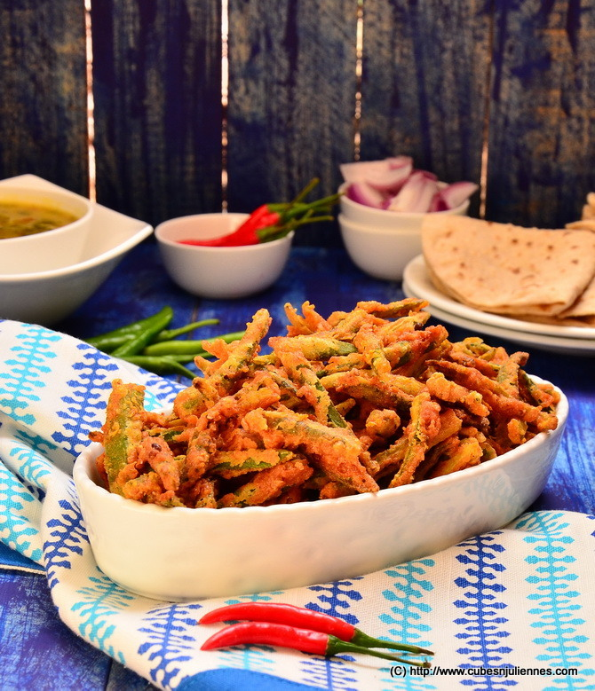 Crispy Bhindi - Crunch away via