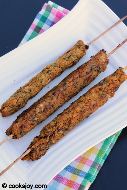 Kebabs with perhaps some coriander-mint chutney? via