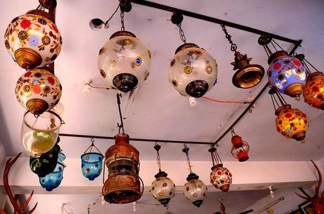 Lights found in the antique market - https://www.pinterest.com/pin/209558188885796560/