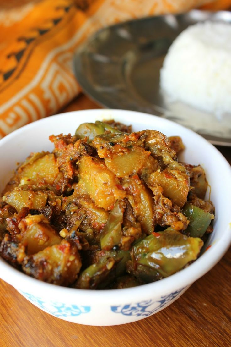 Labra - Having mixed vegetables? Have it the Assamese way ... via