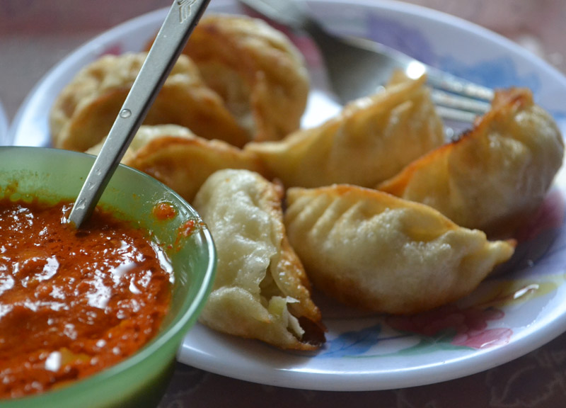 Momos or steamed/fried dumplings taking the world by storm...via