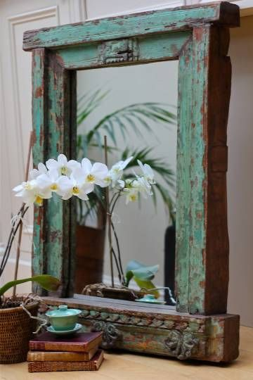 repurposed-window-frame-as-mirror