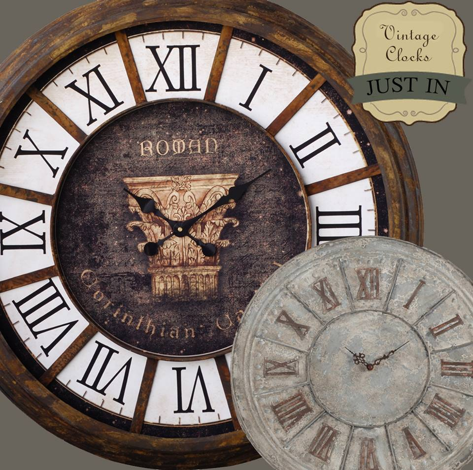 Country style clocks
