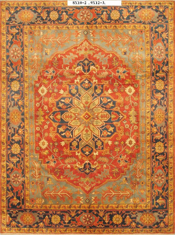 Antique Hariz carpet bhadohi