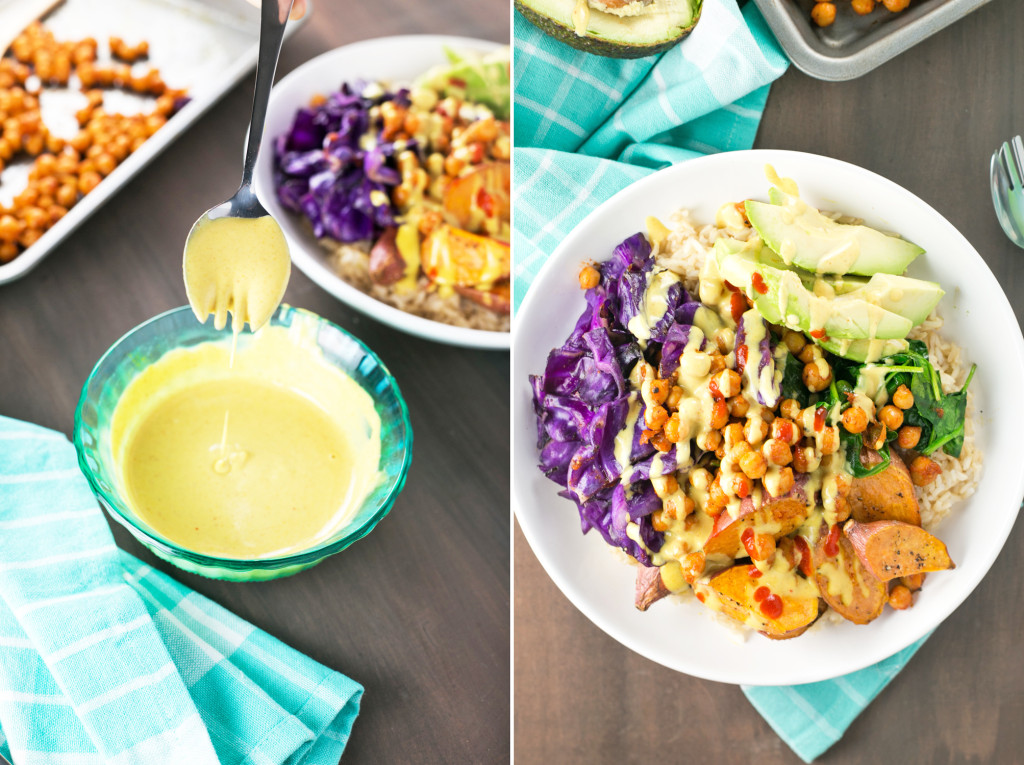 A turmeric dressing added to your meal? Try it - Vegan and delicious via