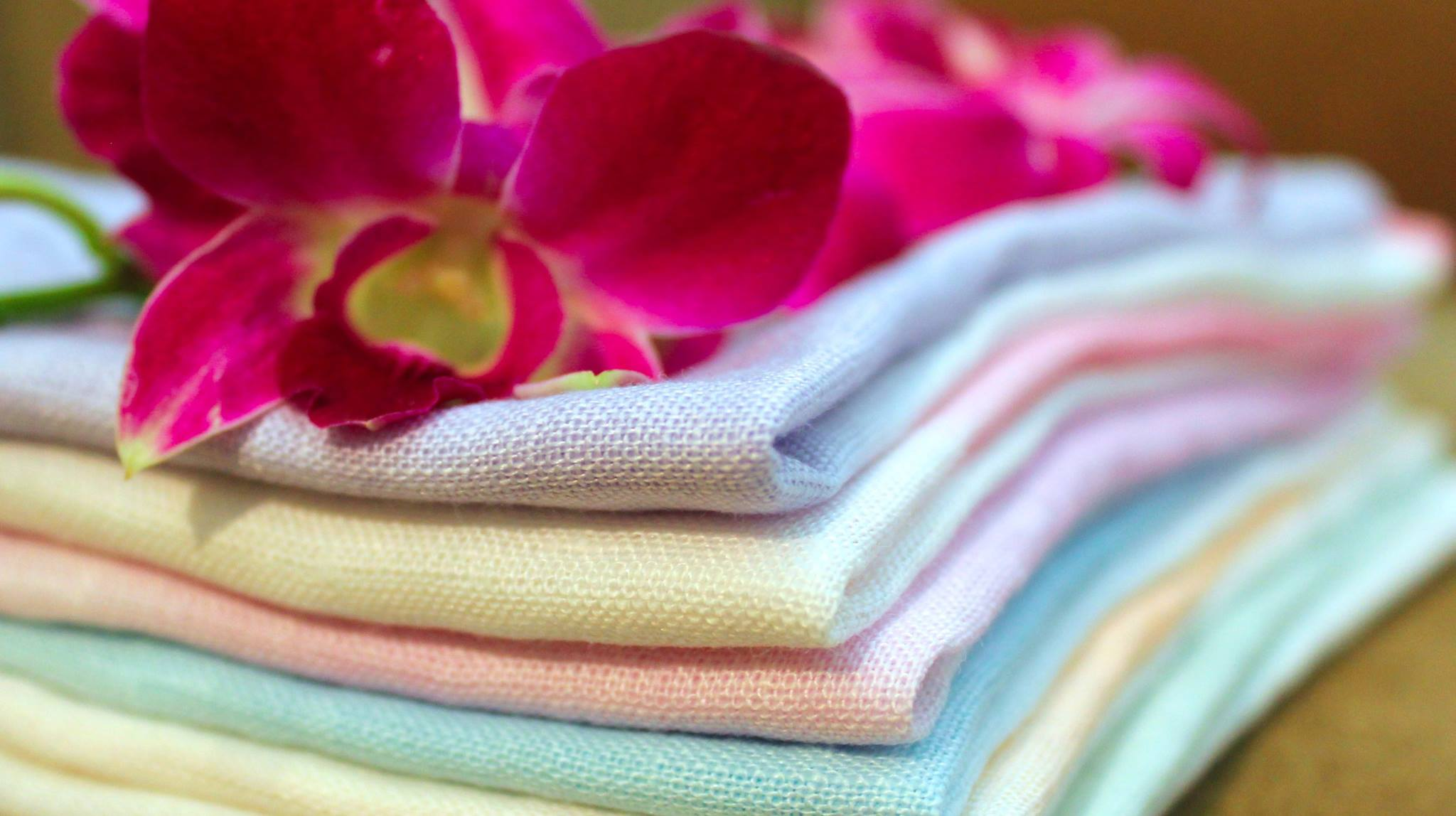 Fancy some pastels in Linen? Fine living by Diti Vora for your home via