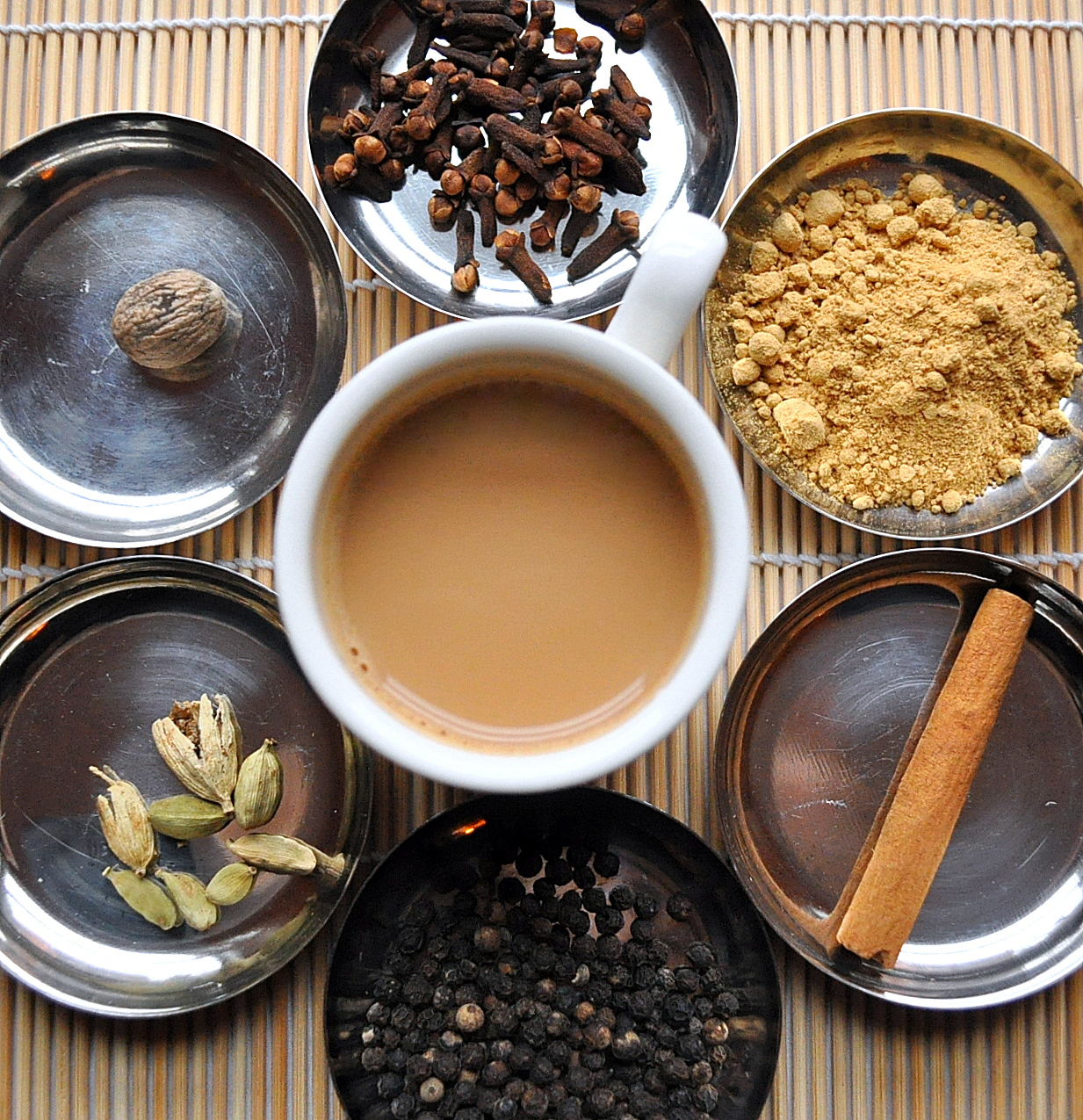 Forget the 'chai teabags' for a minute...create your own healthy concoction...sip away via