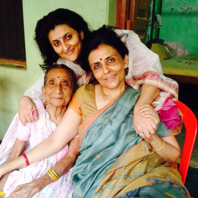 Sarees across generations - brings us all come together