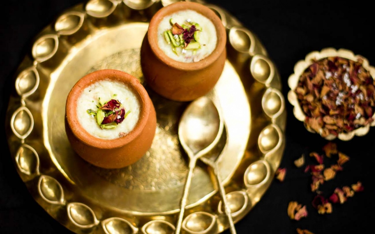 Phirni - sweet and 'light' for anytime during the Diwali festivities via