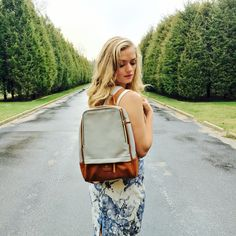 The uber cool and chic backpack from Gunas via