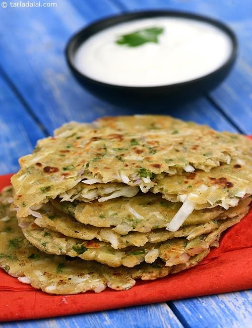 Nutricious, wholesome Thalipeeth - for times when 'hunger strikes'