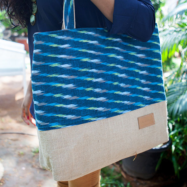 Shopping bag gorgeously made by The Postbox via