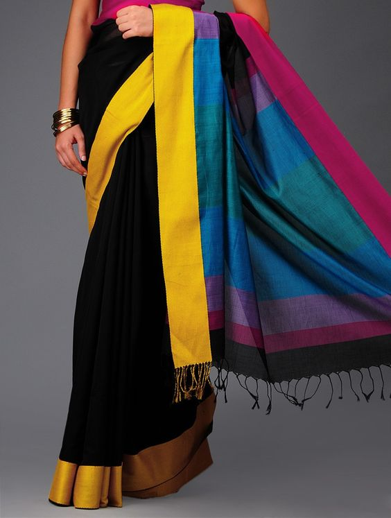 Gorgeousness of colours in the magical drape via