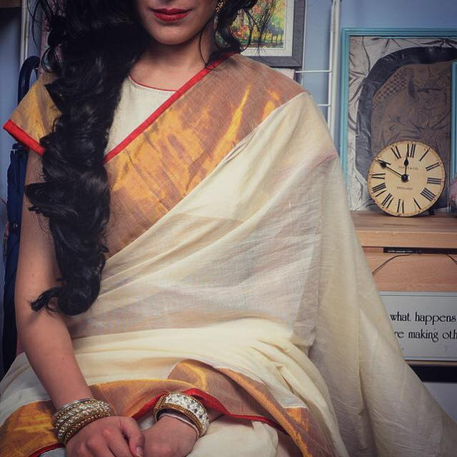ayush kejriwal, sari, saree, india, design, UK based