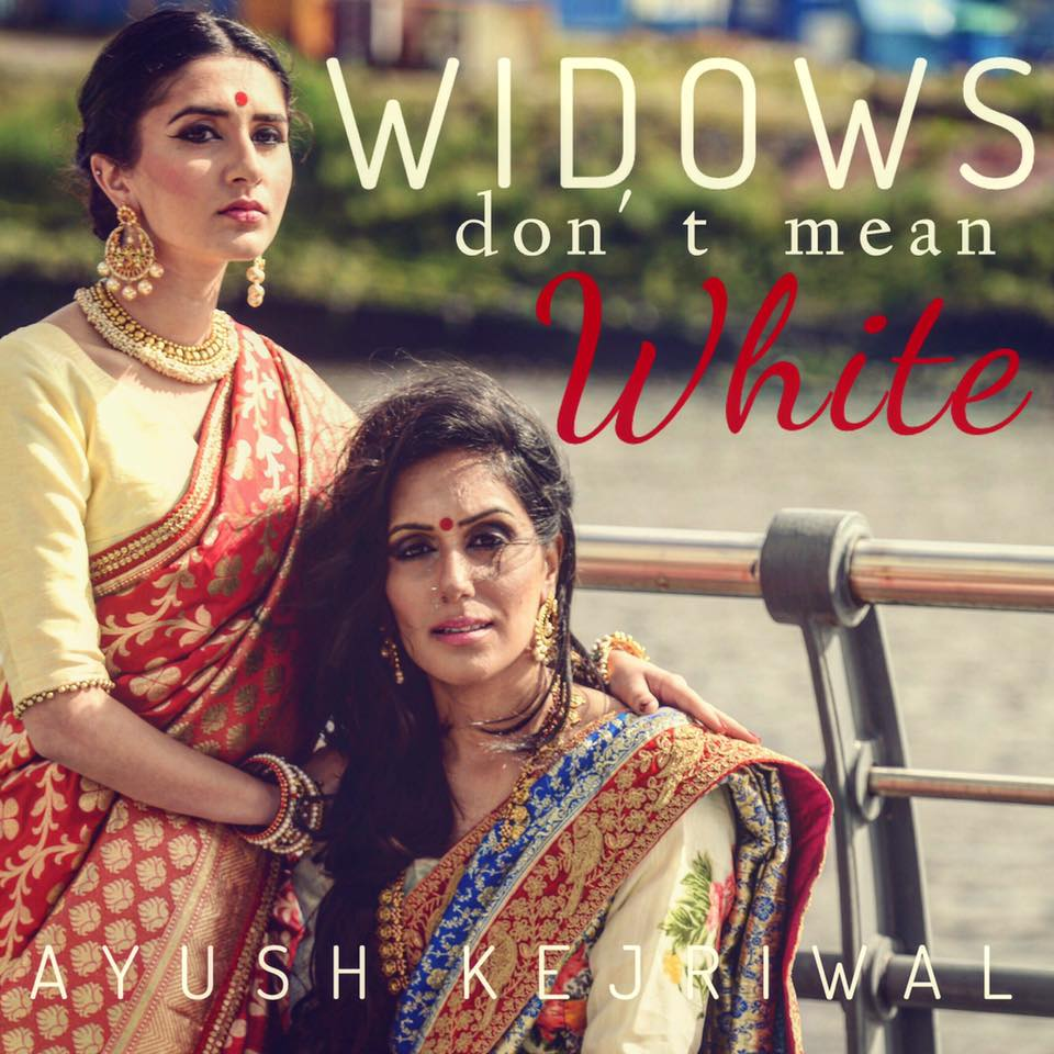 ayush kejriwal, sari, saree, india, design, UK based, be kind to women, colour, joy