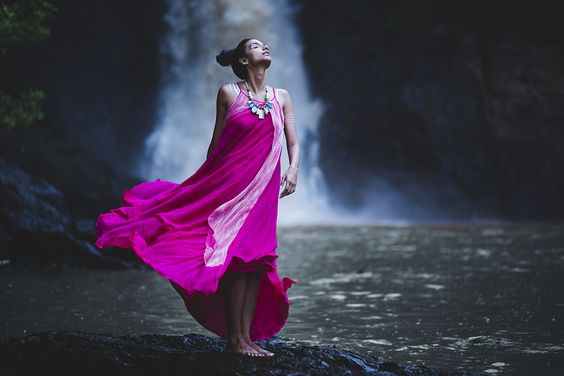 pink, monsoon, indian, dress