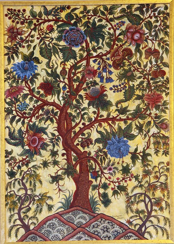 kalamkari-tree-of-life-motif