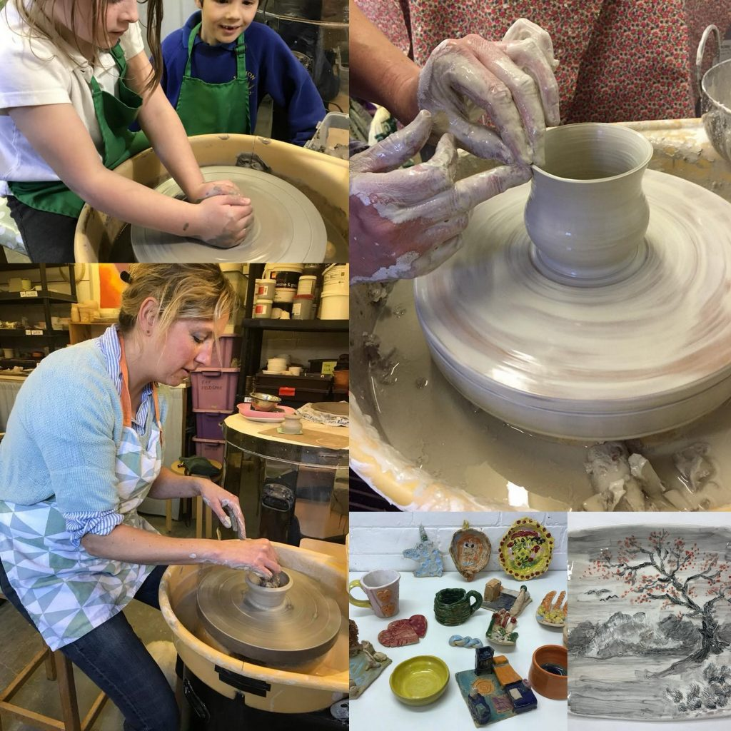 sara, bourn pottery, clay, mental health